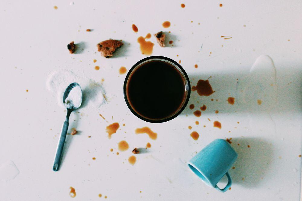 Photo in Random #coffe #sugar #mess #milk #artist #pic