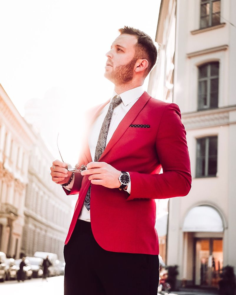Photo in Fashion #munich #sunshine #sun #sunset #portrait #fashion #porträt #lifestyle #influencer #sunny #beautiful #suit