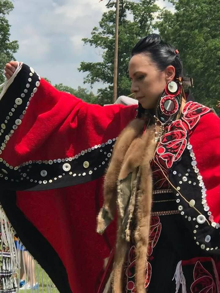 Photo in Portrait #dancer #pow wow #woman #female #native american
