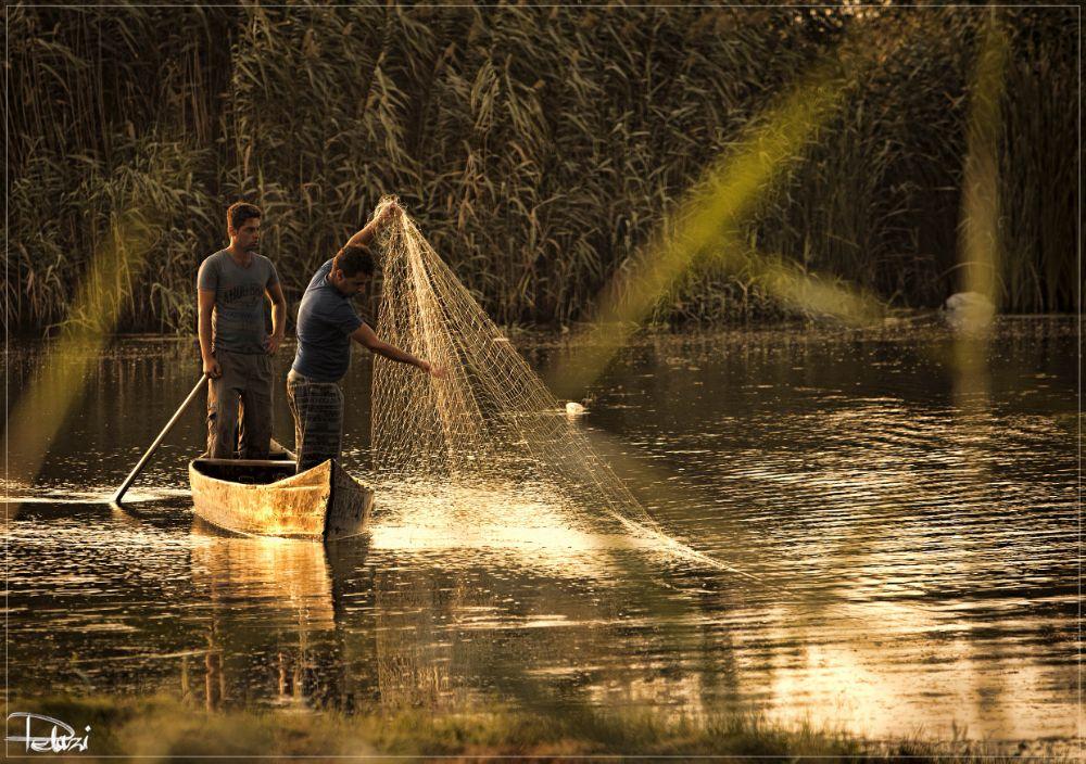 Photo in People #fisherman #yacht #sea