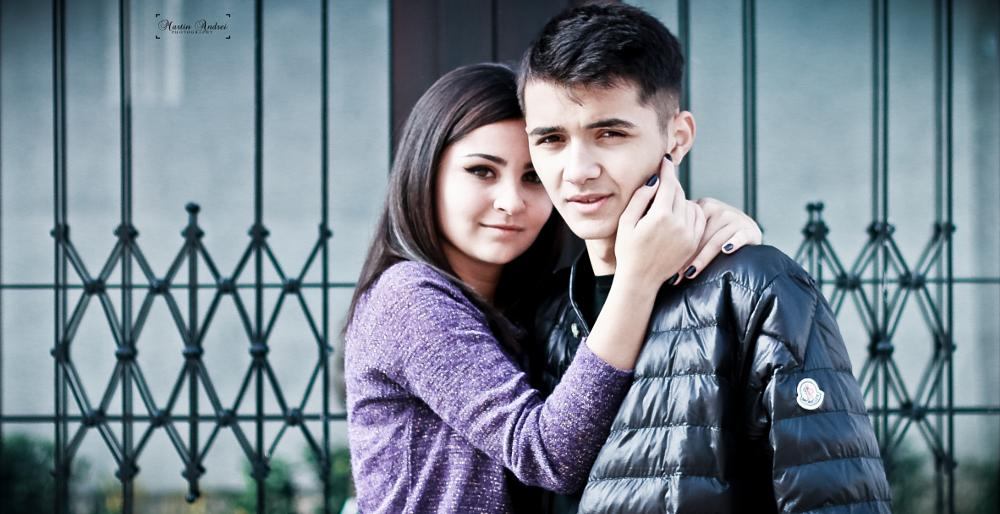 Photo in Portrait #love #couple #sunny day #reflection