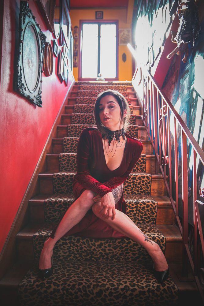Photo in Portrait #art house #lgbt #fashion #model #beauty #beautiful #portrait #natural light #studio #canon #canon 6d #35mm #tamron #make up #bay area #oakland #heels #woman #sexy