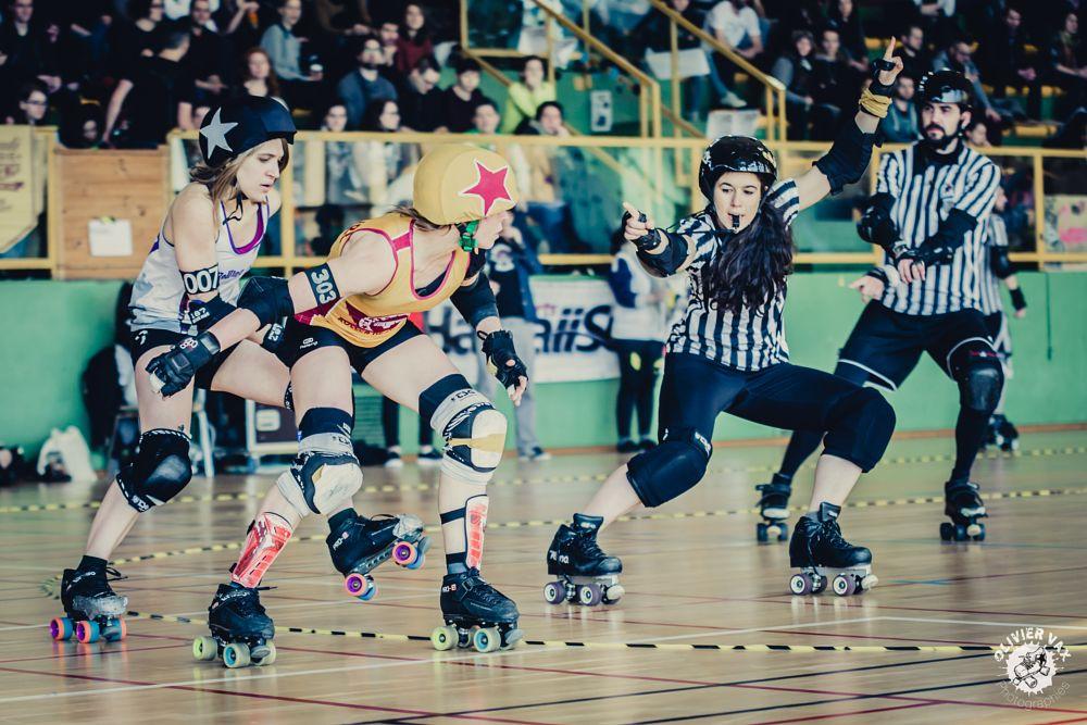 Photo in Sports #roller #roller derby #olivier vax