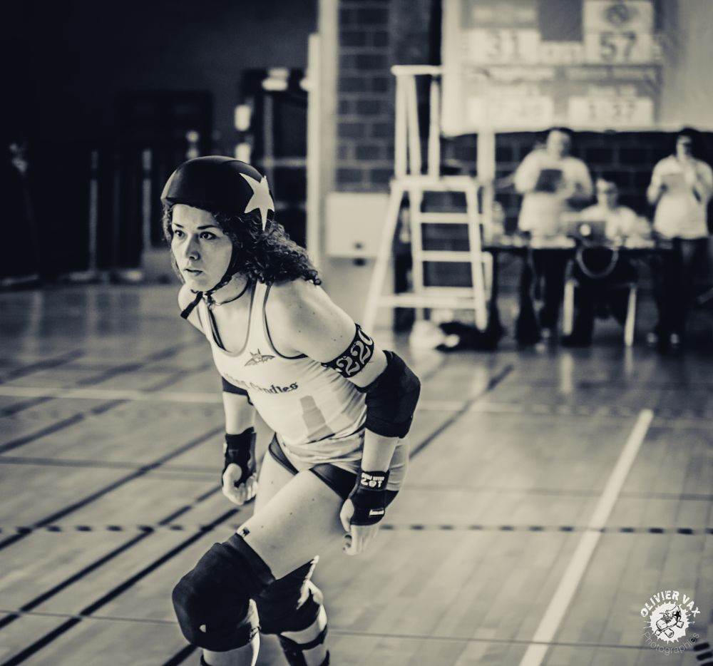 Photo in Sports #roller derby #roller #olivier vax