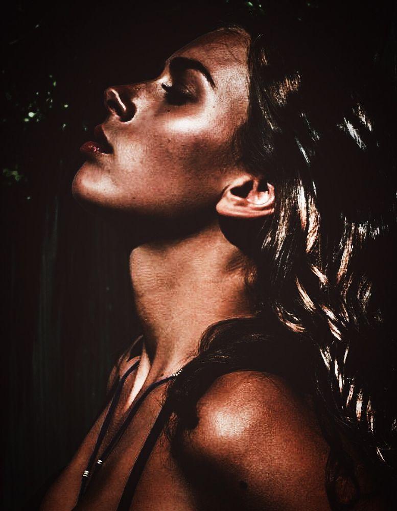 Photo in Portrait #woman #profile #bronze #beauty #tanned