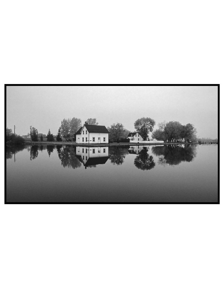 Photo in Random #unesco #water #reflection #monochrome #analogphotography