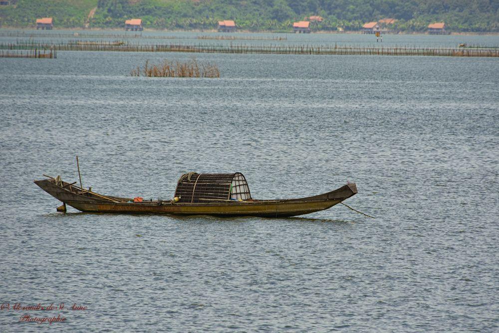 Photo in Random #water #boat #vietnam #nature #lake