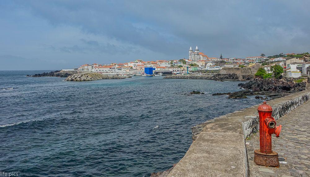 Photo in Cityscape #atlantic #azores #bay #beach #beautiful #blue #cityscape #coast #coastal #coastline #island #landscape #nature #panorama #portugal #resort #san miguel #scenic #sea #seascape #tourism #touristic #town #travel #trip #view #village #water