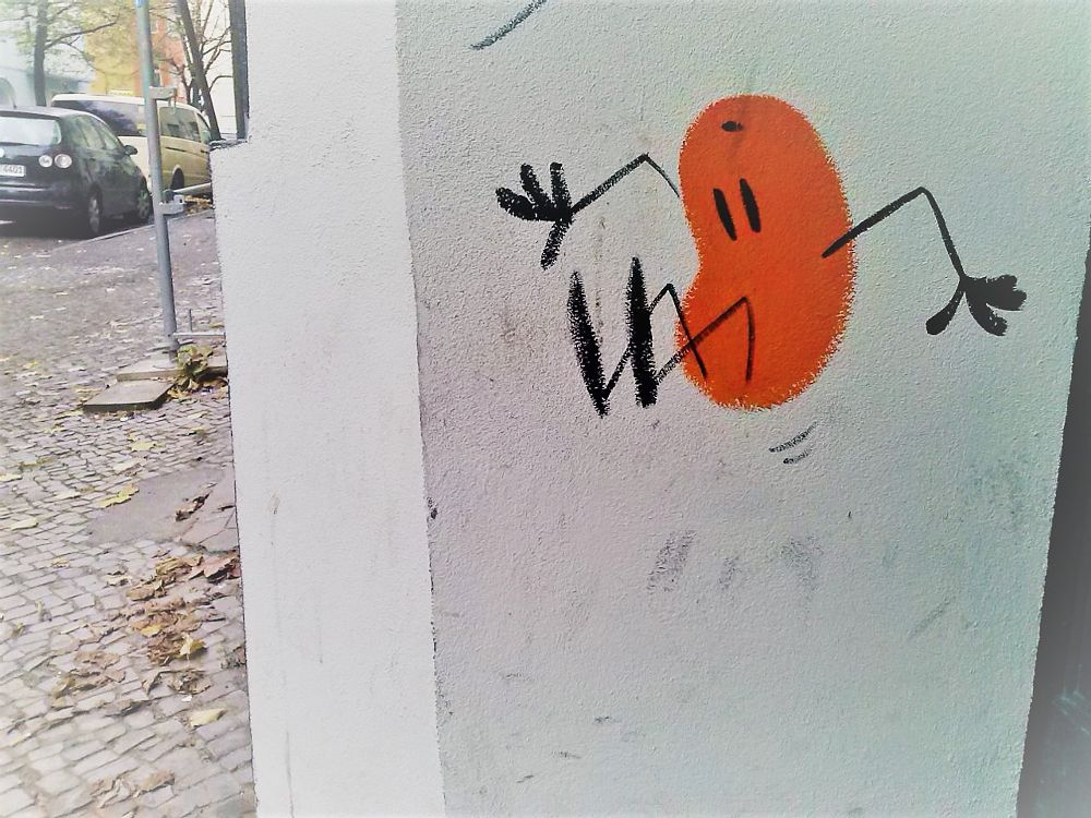Photo in Street Photography #graffiti #streetart #berlin #urban art #painting #jump #sprung #street