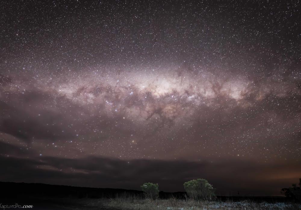 Photo in Landscape #milkyway #milky way #capturedpro.com