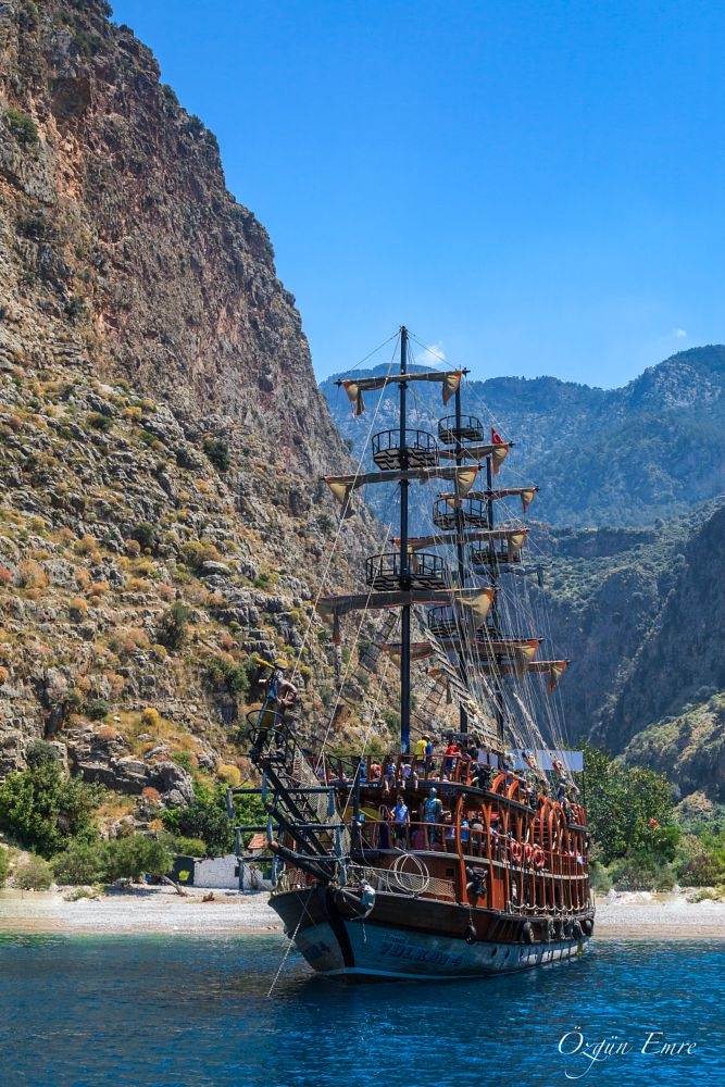 Photo in Landscape #valley #boat #trip #prate #viking #butterfly valley #mountain