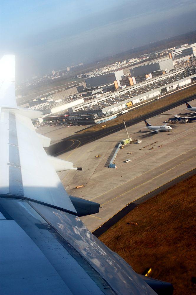 Photo in Travel #flying #plane #airport #frankfurt