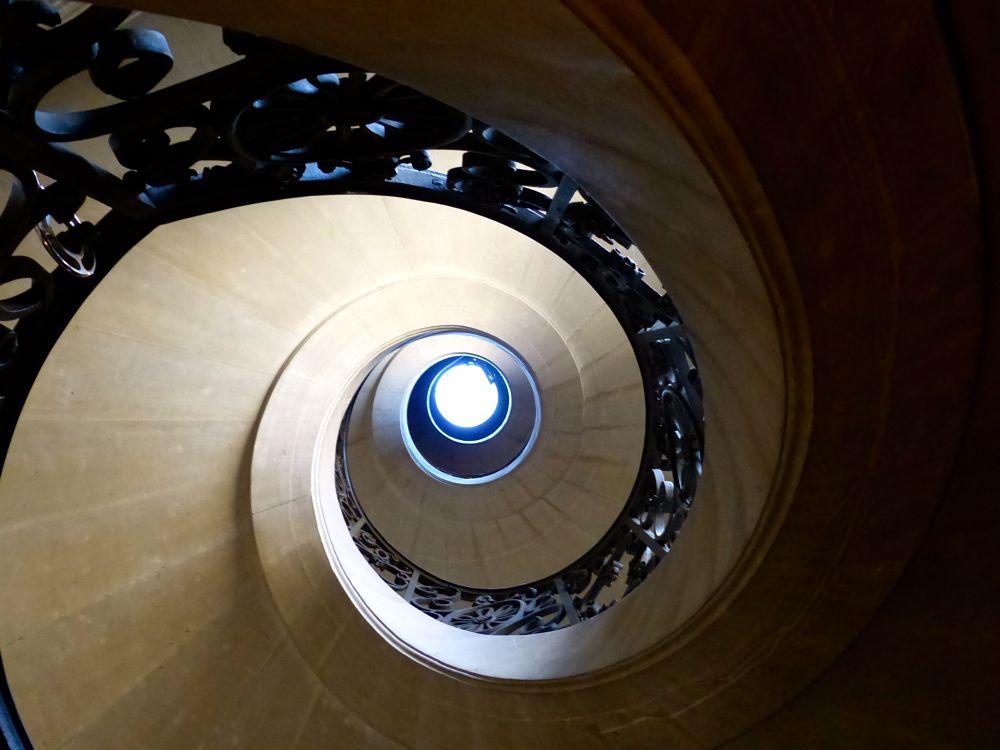 Photo in Architecture #versailles #chateau de versailles #escaliers #spirale #chateau
