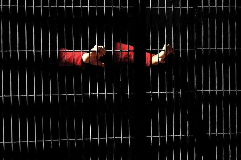Photo in People #shoot #prison #prisoner #convist #people #human #life #live #light #in black