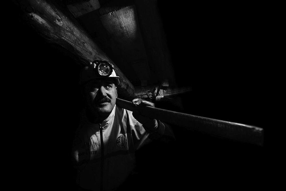 Photo in Journalism #matalworker #mine #portrait