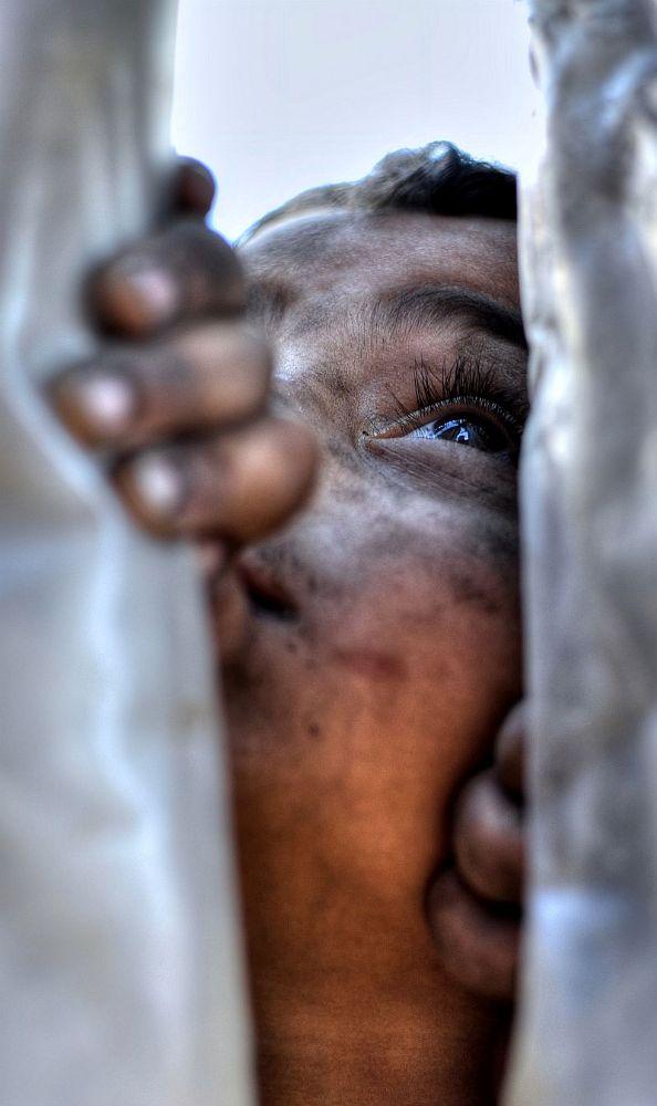 Photo in Portrait #portrait #window #look #kid