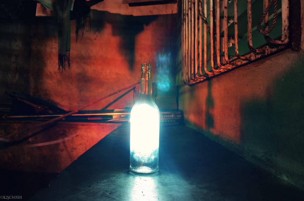 Photo in Random #art #nikon #d5100 #18-55 #vr #lens #light #painting #bottle