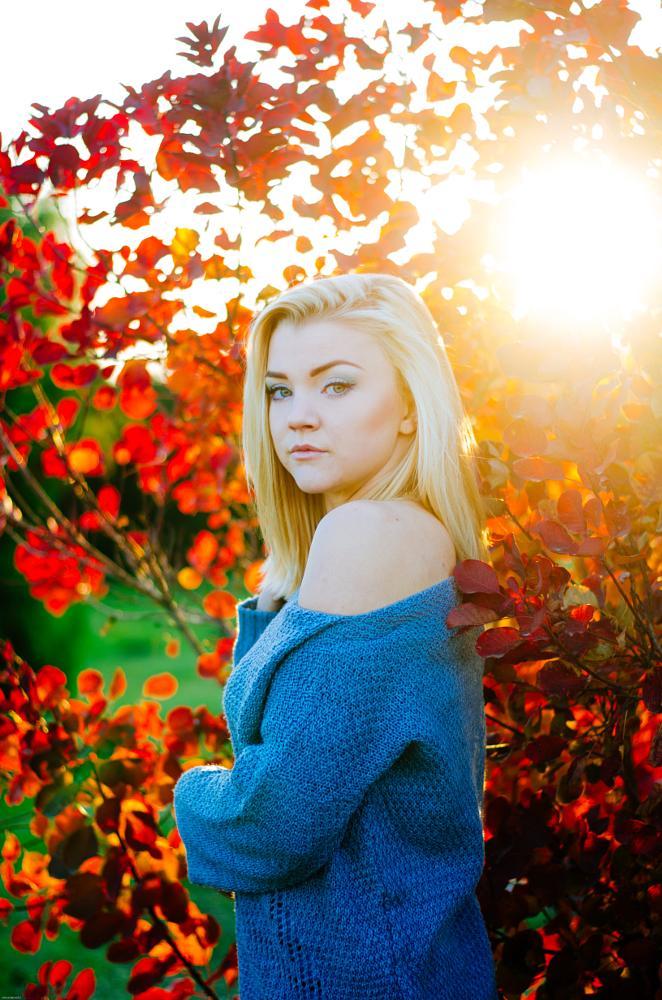 Photo in Portrait #woman #forest #autumn