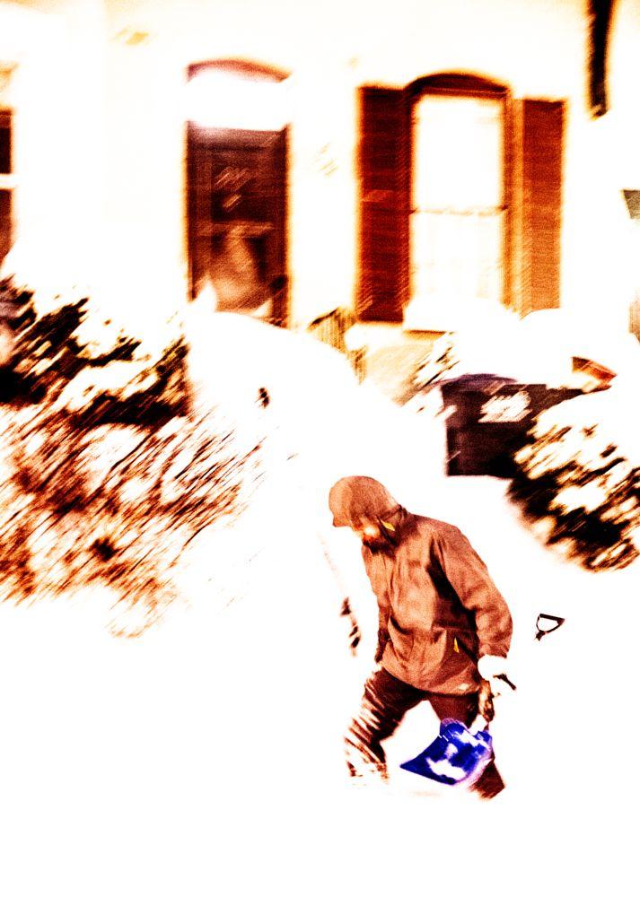 Photo in Street Photography #wintercontest #blizzard #winter #snow