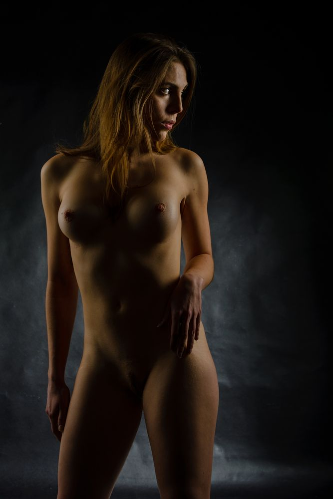 Photo in Nude #céline #itis #jean turco #stage #clair obscur #high key #modèle