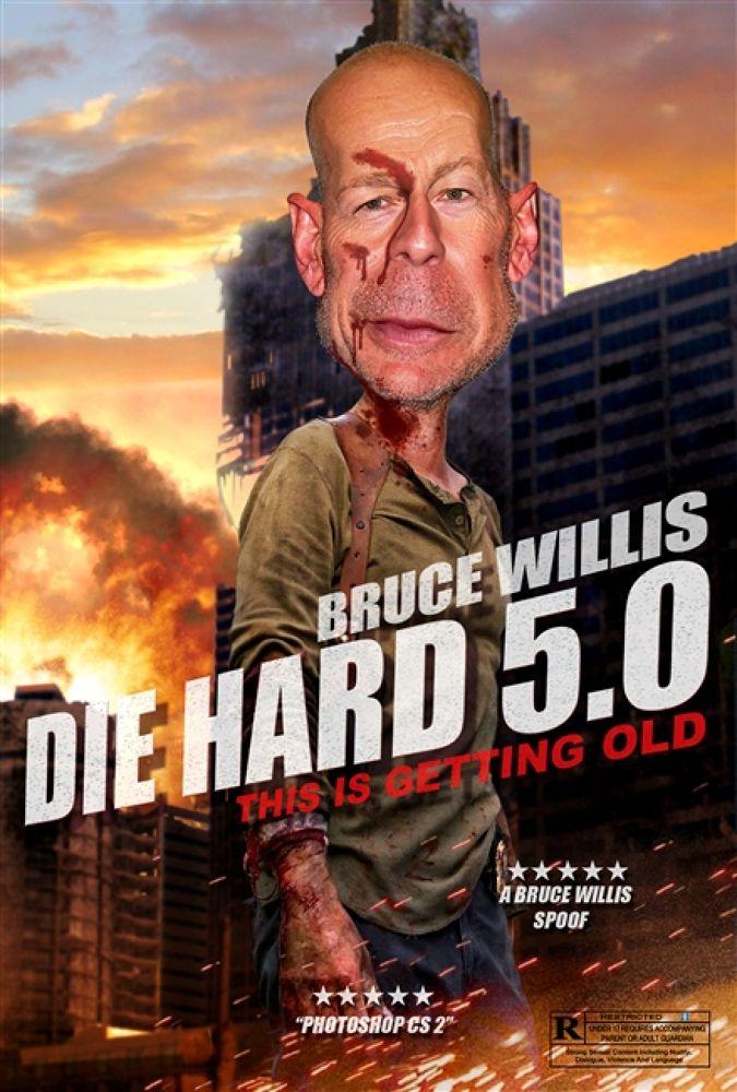 Photo in Random #bruce #willis #movie #spoof