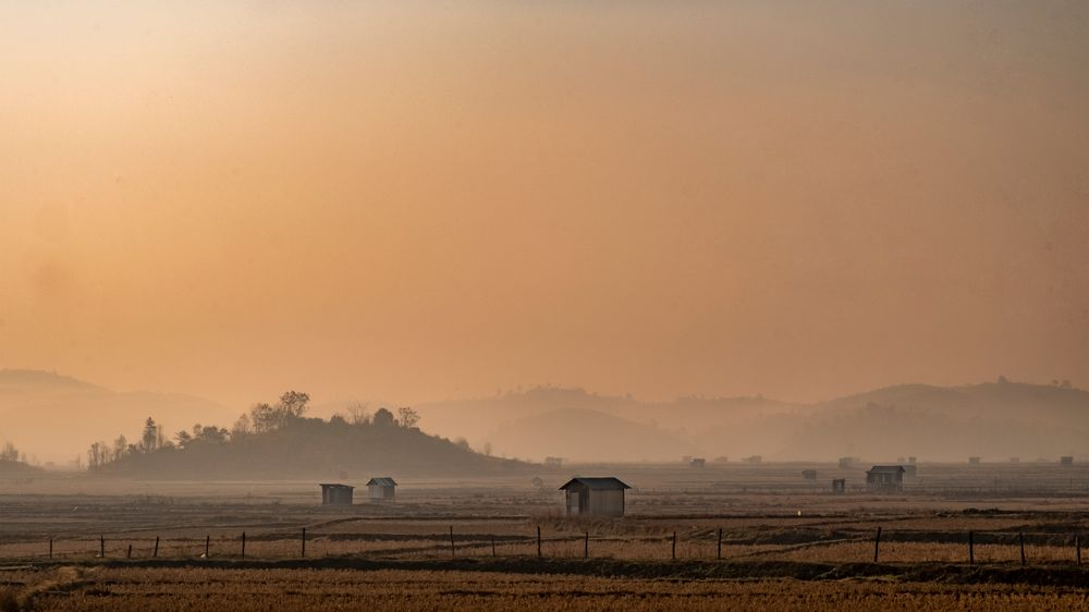 Photo in Landscape #fog #morning #sunlight #landscape #mizoram #colour #fujiflim xh1