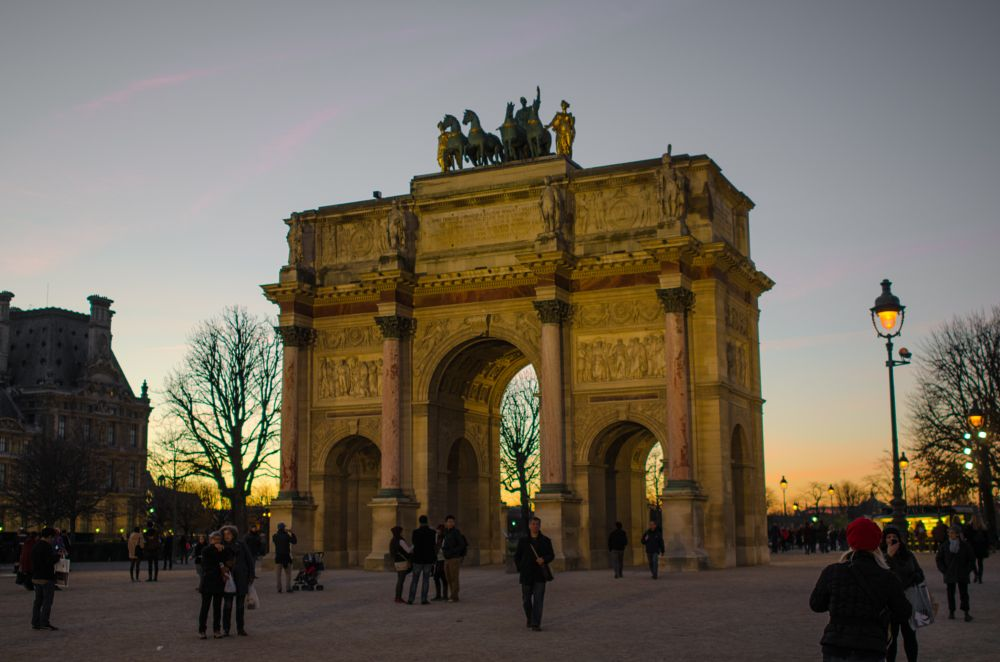 Photo in Architecture #louvre #carrousel #triomphe
