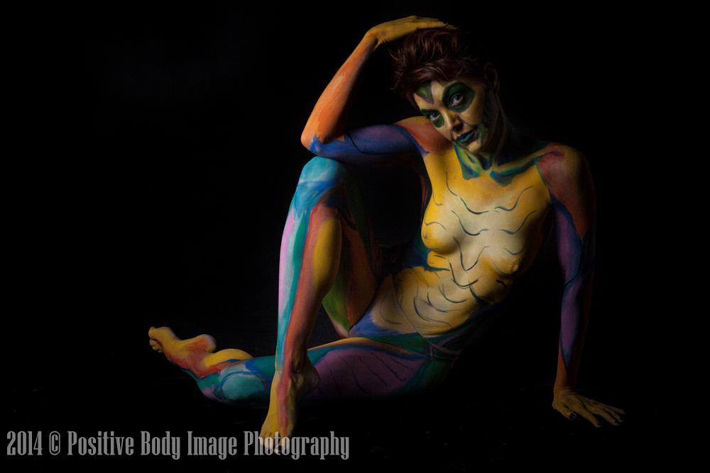Photo in Fine Art #bodypaint #nude #irarotenberg
