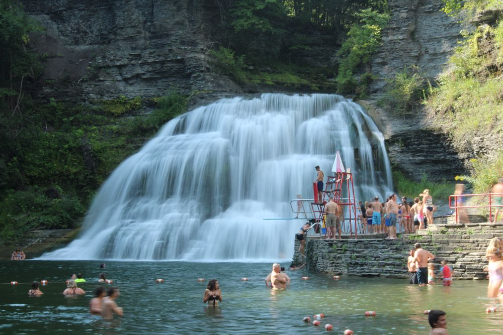 Photo in Nature #ithaca #flx #finger lakes #ithaca is gorges #adventure #hike #treman state park #cny #waterfalls #gorges