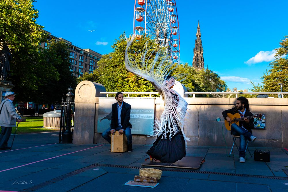 Photo in Street Photography #fringe festival #edinburgh #art #places #travel #scotland #inspiration #creative #dance #canon5dm4 #street photography