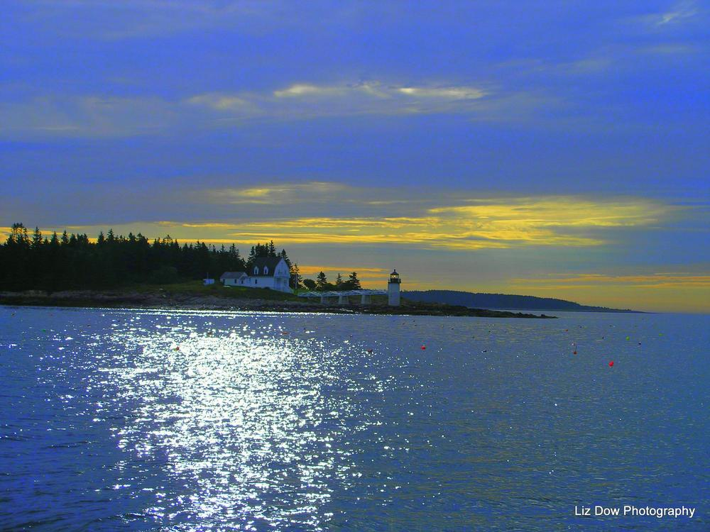 Photo in Sea and Sand #port clyde maine #lighthouse #atlantic ocean #new england #sunrise #elizabeth dow #elizabeth dow photography