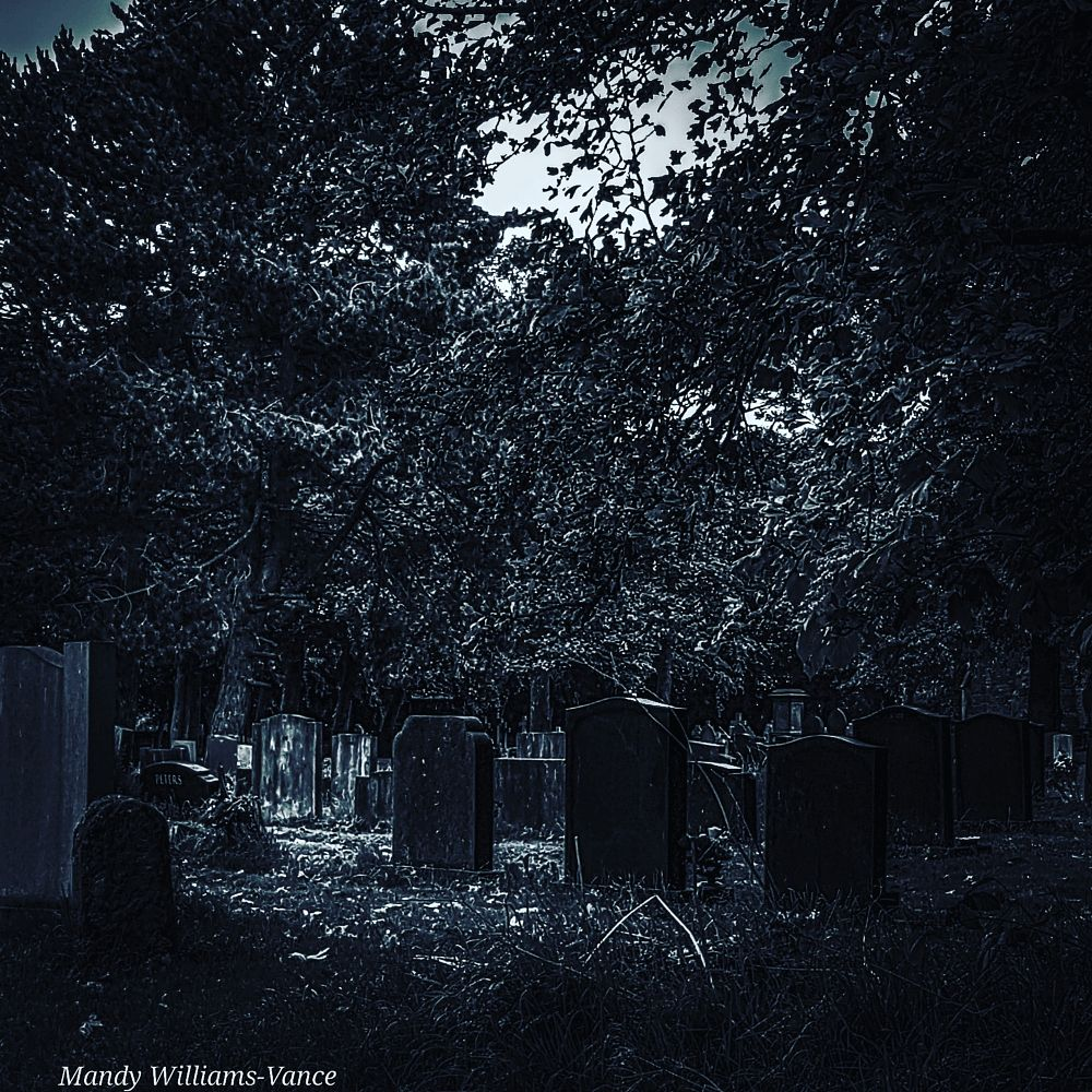 Photo in Black and White #blackandwhite #gravestone #grave #cemetery #church