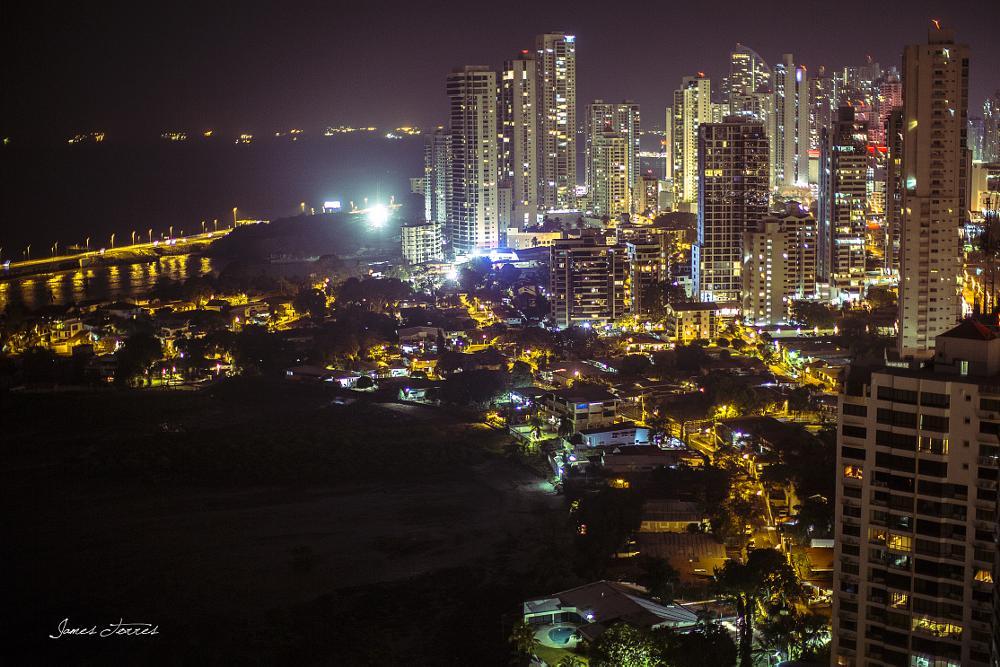 Photo in Architecture #panama #panamacity #travel #sky #night #lowlight