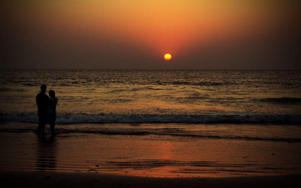 Photo in Nature #nature #sunset #india #romance