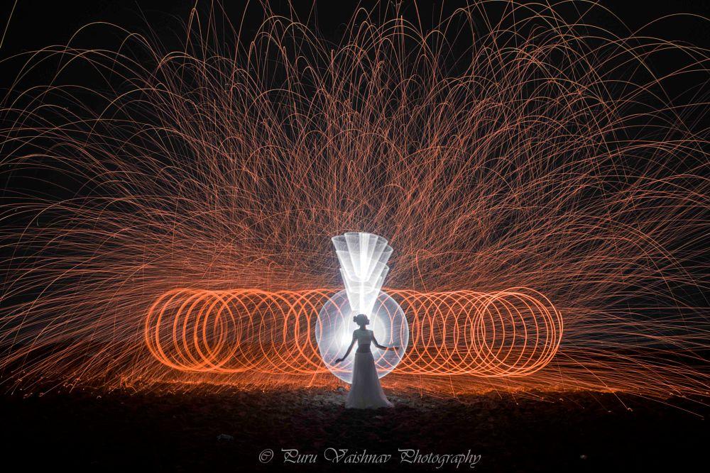 Photo in Random #lightpainting #light #paint #slowshutter #steel wool #steelwool #tubepainting #tubestory #long exposure #model #fire