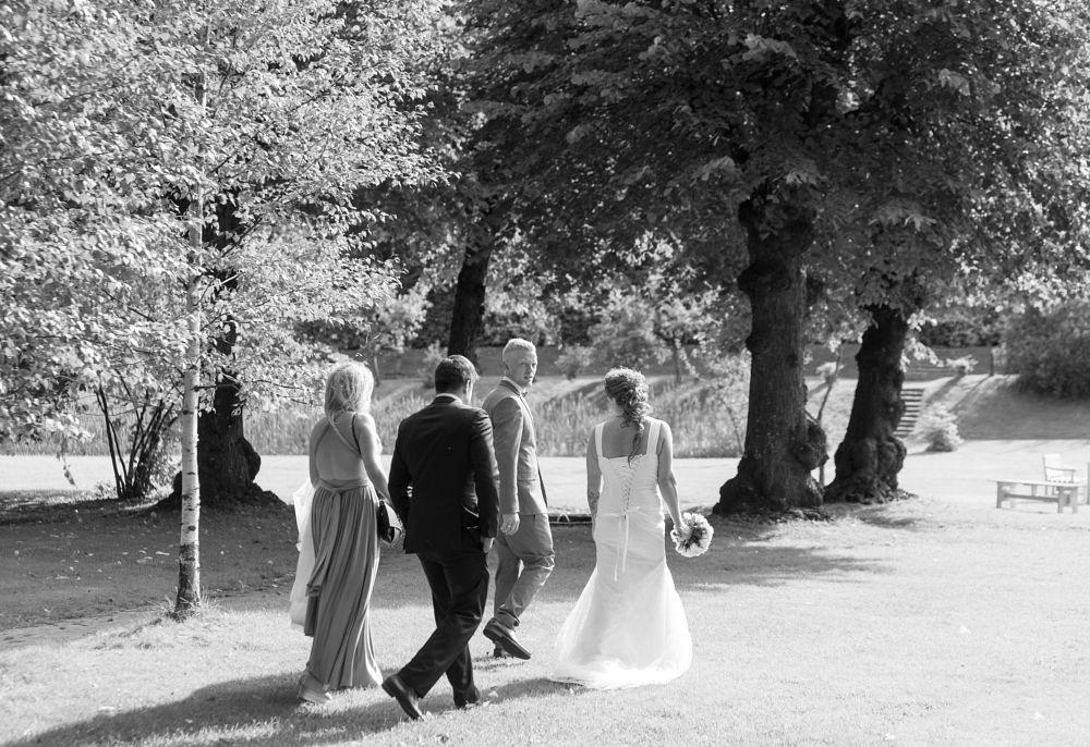 Photo in Wedding #weddings #photoshoot #park #bridesmaid #bride #groom #canon
