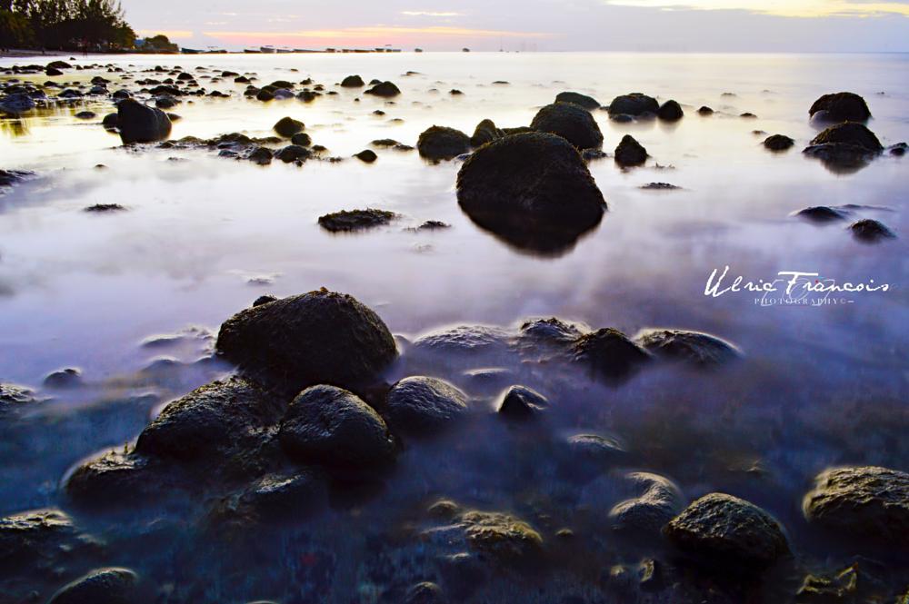 Photo in Landscape #long exposure #after sunset #rocks #sea #summer #landscape