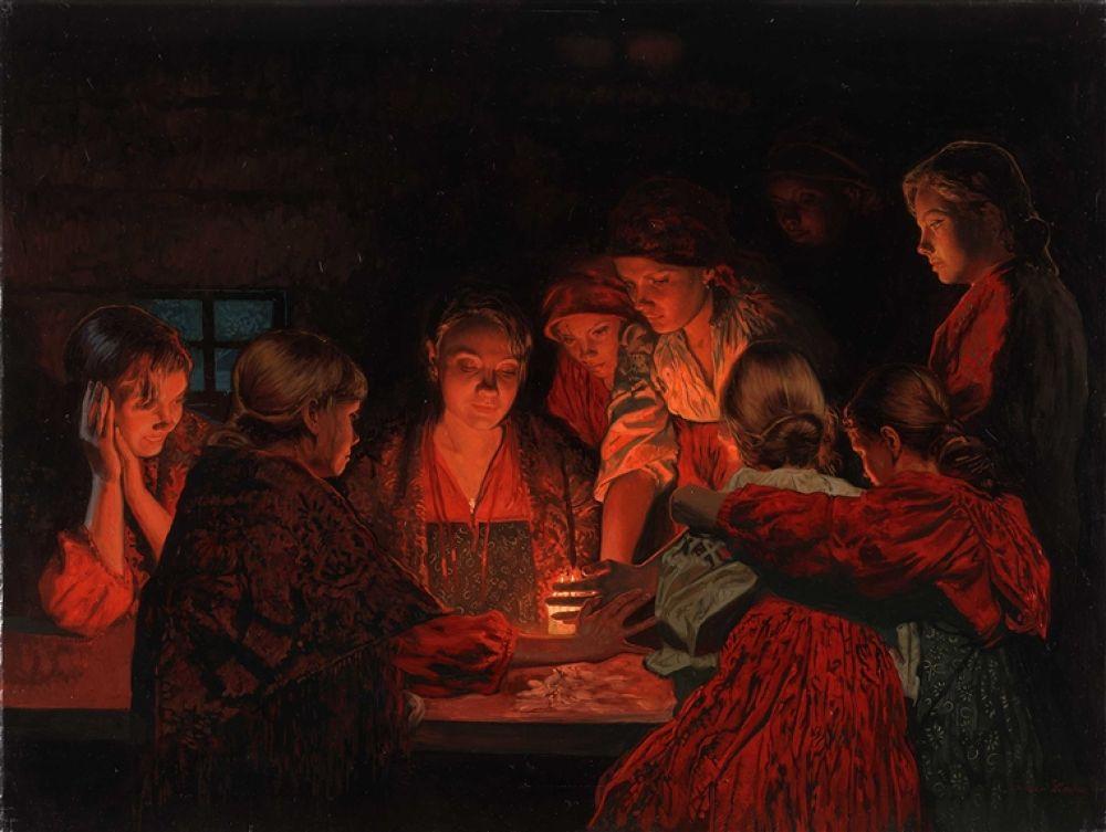 Photo in Random #christmas #cm. #fortune-telling.2008.canvasoil