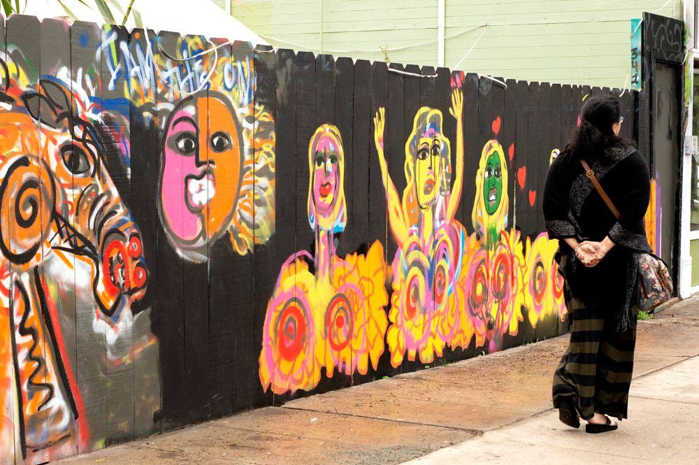 Photo in Street Photography #street photography #passerby #murals #wall art #street art #san diego #barrio logan #california #candid #travel