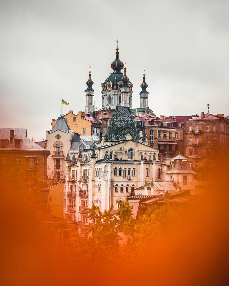 Photo in Cityscape #architecture #autumn #church #ukraine #europe