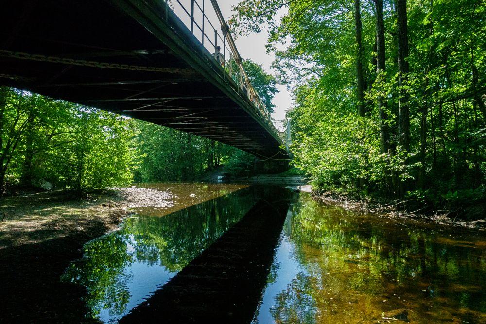 Photo in Landscape #oslo #akerselva #norway #aamodtbridge