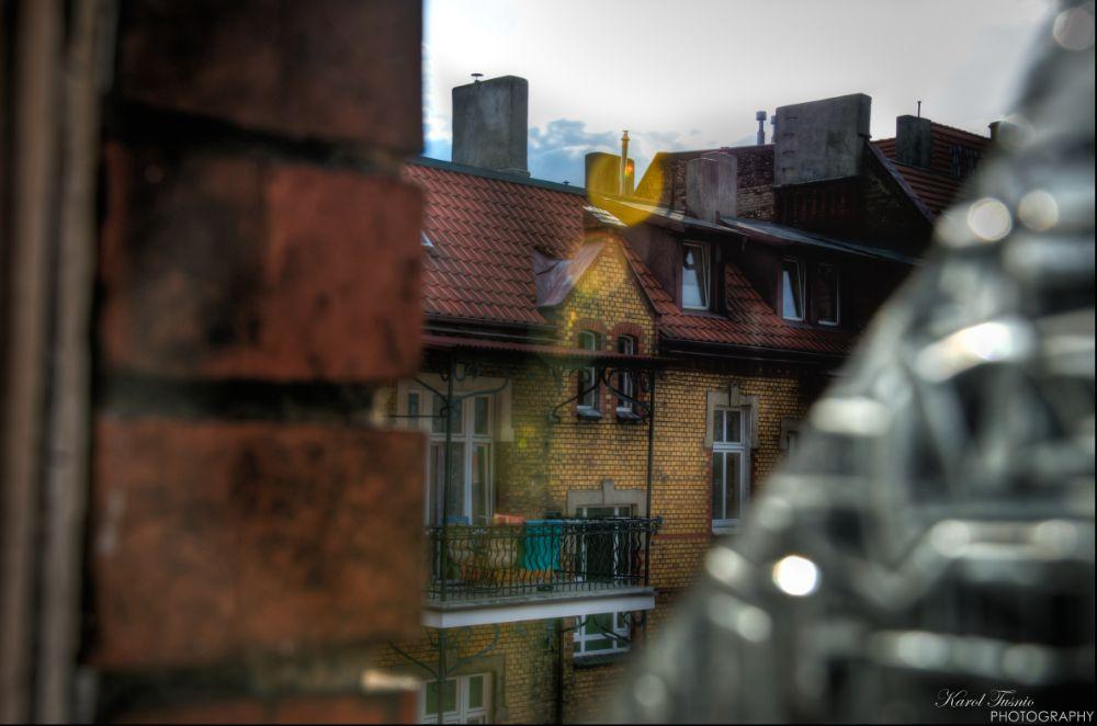 Photo in Architecture #hdr #poznan #poland #poznań #window #broken #old