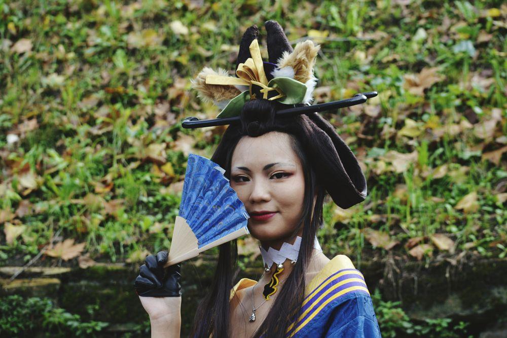 Photo in Random #comics #cosplay #cosplayer #cosplayphoto #nikon #nikonphotography #soul #oriental #blue