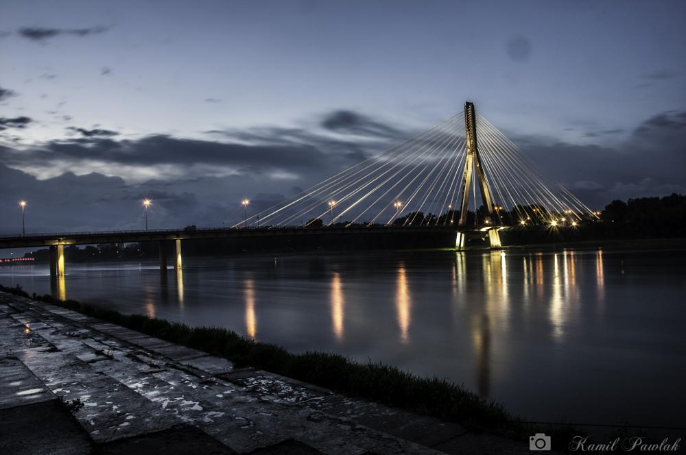 Photo in Architecture #bridge #river #light