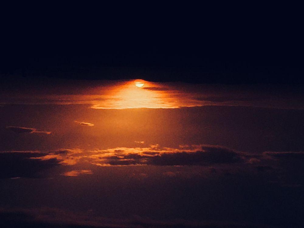 Photo in Random #sunset #sun #clouds #dark #fine art