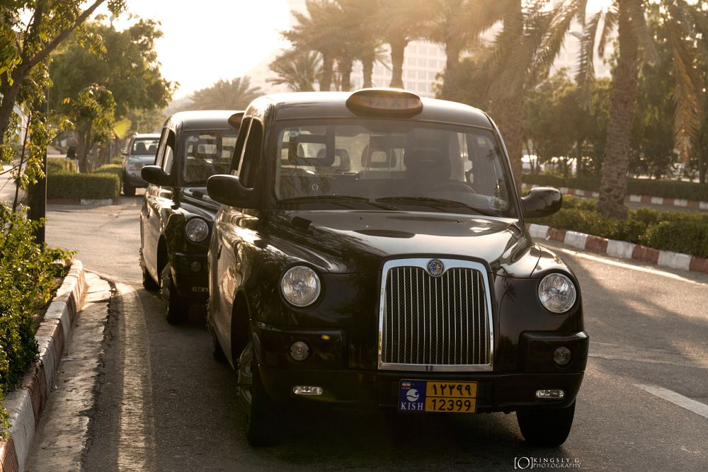 Photo in Travel #kish #taxi #transportation