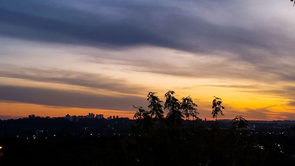 Photo in Cityscape #são paulo #sunset