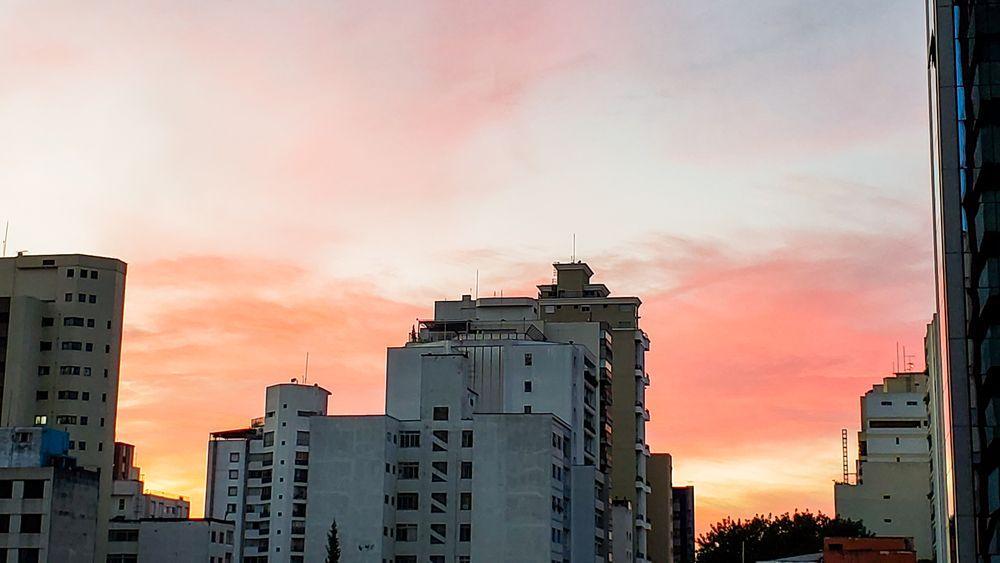 Photo in Cityscape #são paulo #city #sunrise #sunlight #sunshine