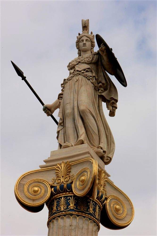 Photo in Random #of #the #athena #statues