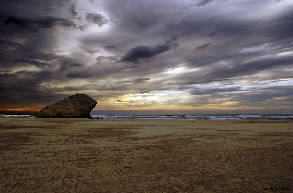 Photo in Landscape #beach #sea #nature #landscape #playa #cabo de gata #mar #almería
